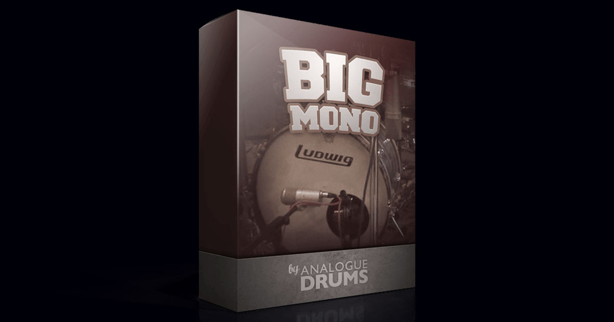 Big Mono Analogue Drums | Free Drum Kit Samples | Free Sample Packs