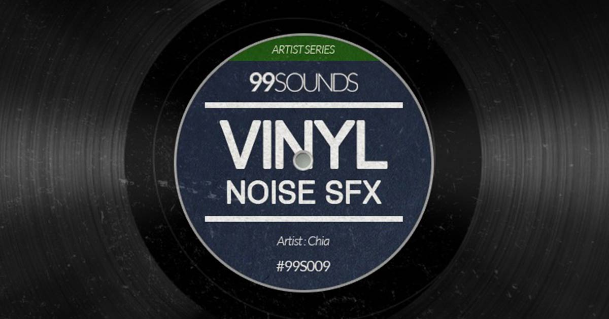 99Sounds Vinyl Noise - Free SFX Samples To Download