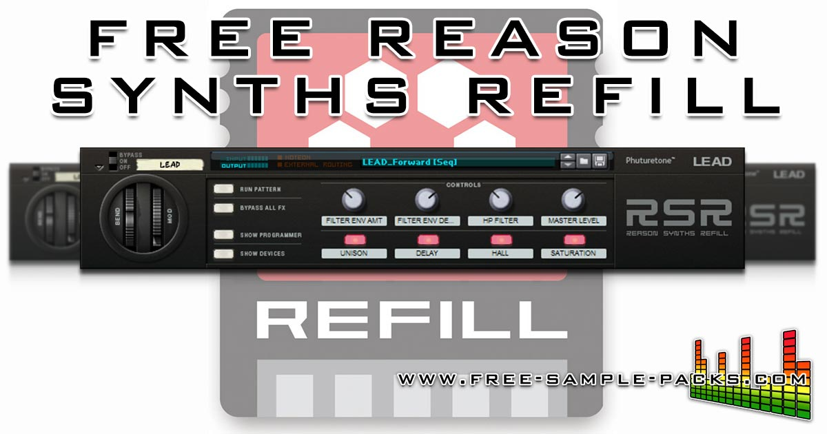 Download Free Synths Refill For Reason