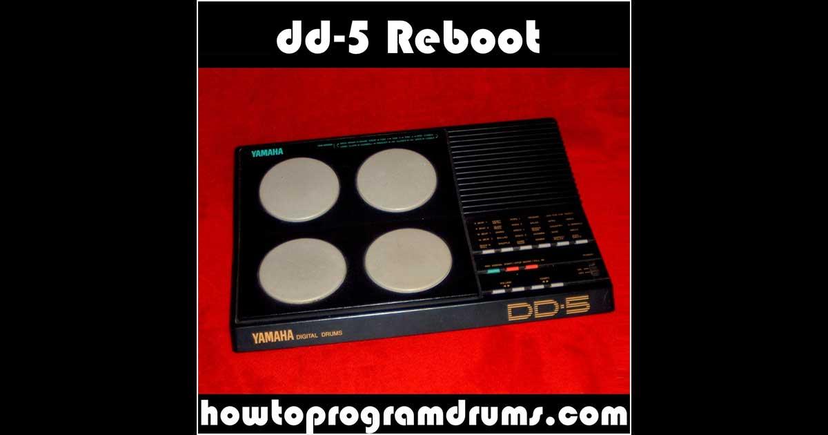 Yamaha DD-5 Reboot - Free Hardware Drum Sample Pack