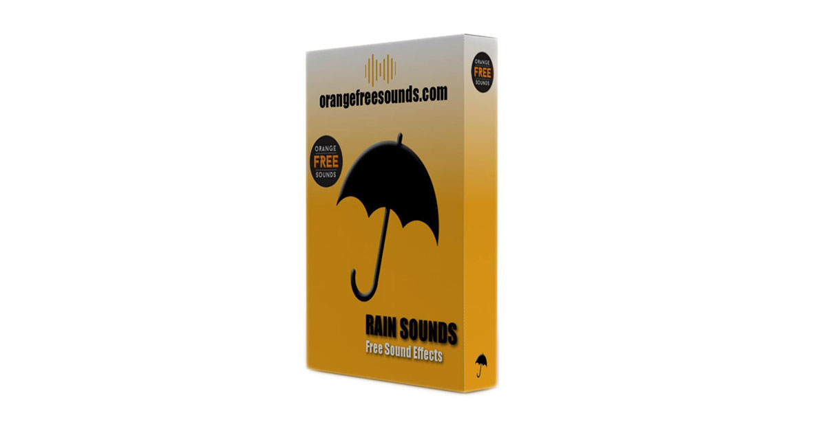Orange Free Sounds - Free Rain Samples