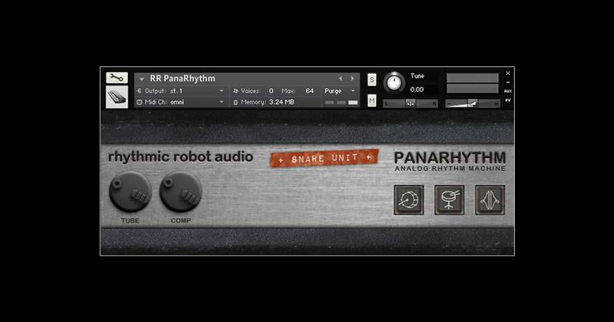 rhythmic robot panarhythm free drum machine for kontakt free sample packs. Black Bedroom Furniture Sets. Home Design Ideas
