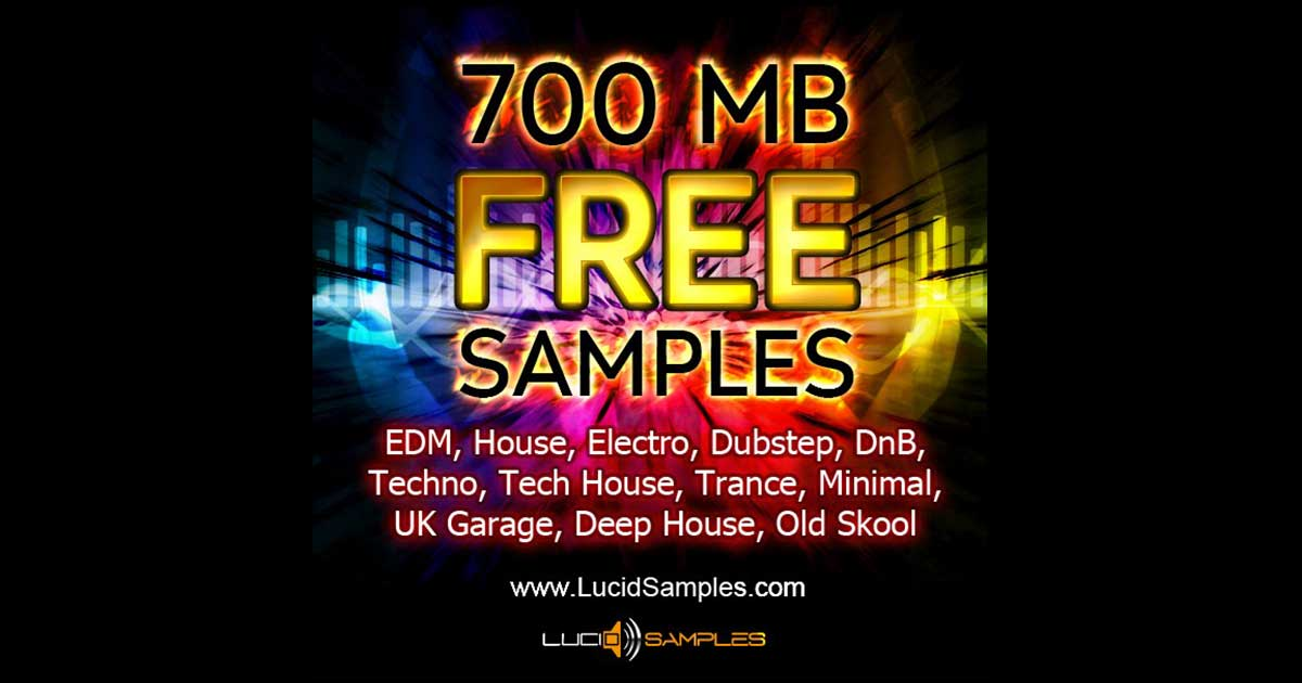 Download 700mb Free Samples And Loops From Lucid Samples