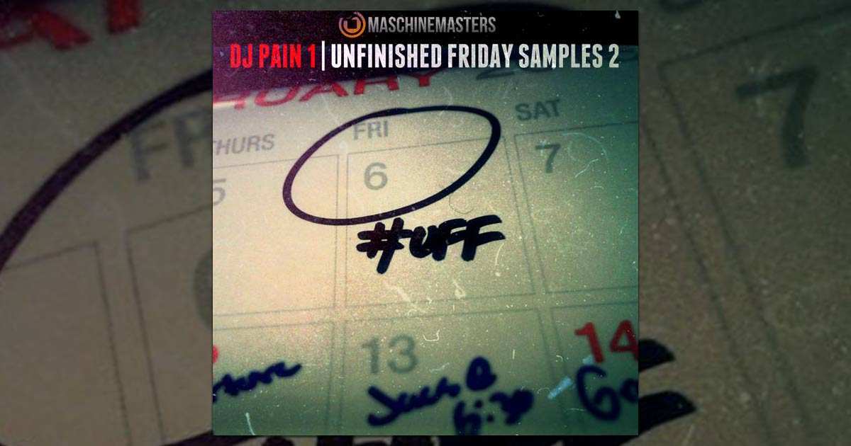 Free DJ Pain 1 Unfinished Friday Samples