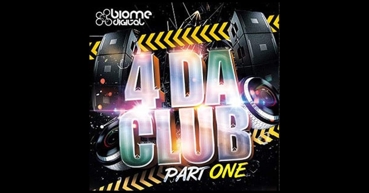 4 Da Club Part 1 - Free EDM Sample Pack