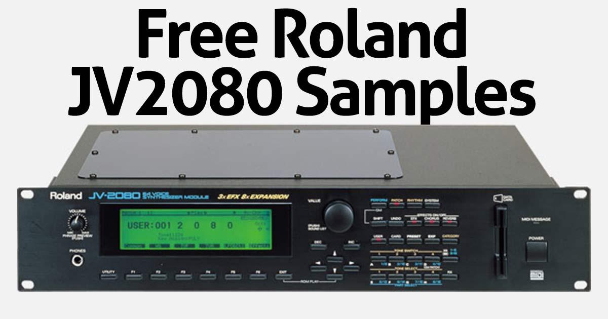 Free Roland JV2080 Sample Pack Download