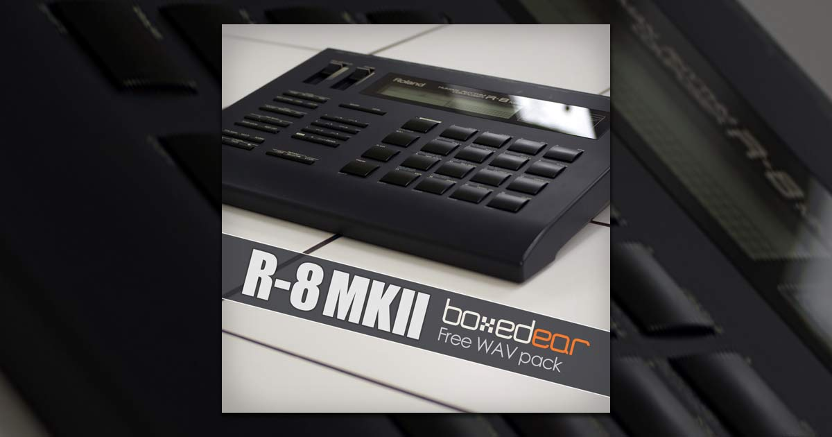 Free Roland R-8 MkII Samples Download | Free Sample Packs