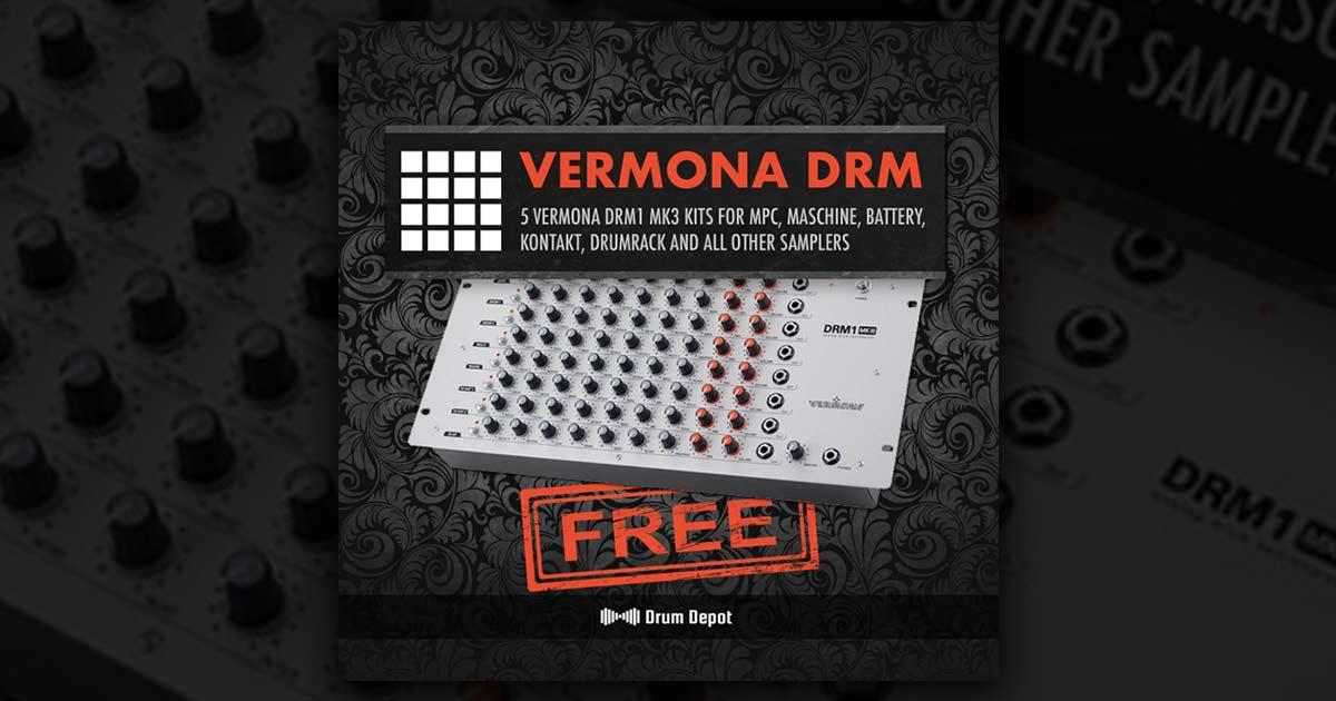 Drum Depot - Vermona DRM1 - Free Sample Pack