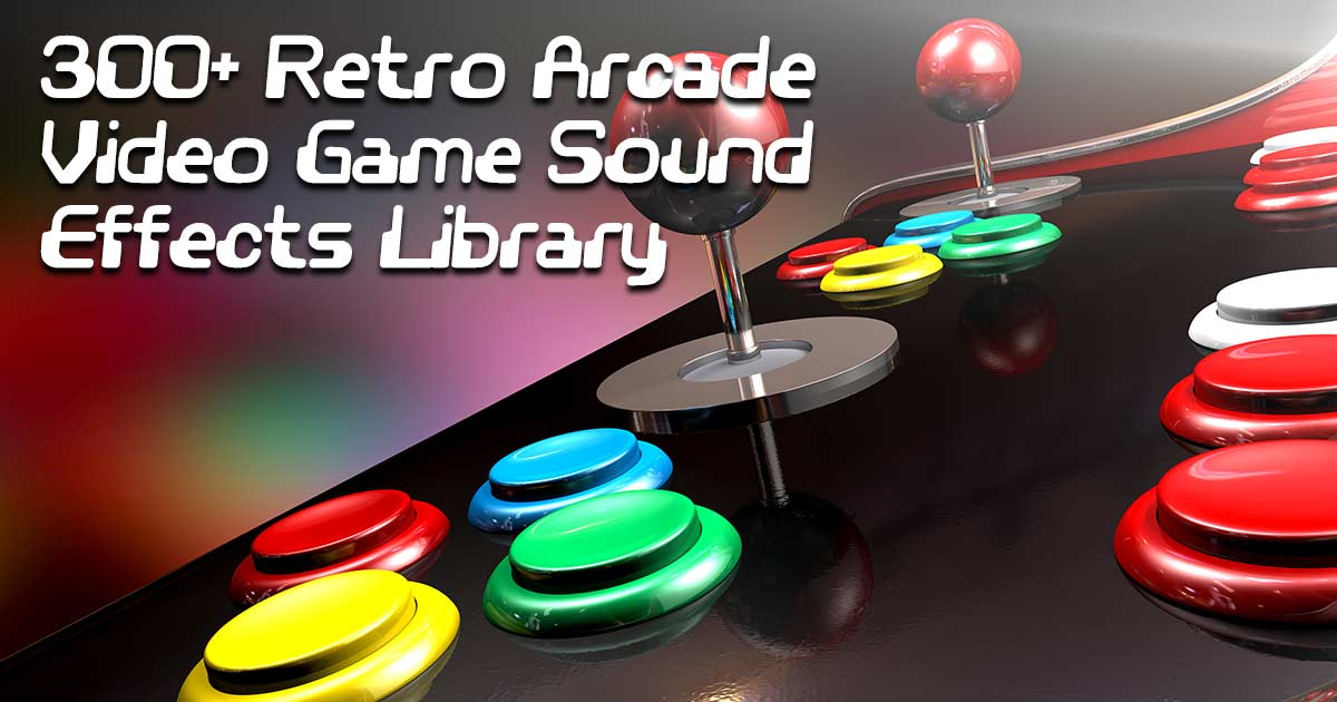 300+ Free 16-Bit Retro Arcade SFX | Free Sound FX Samples