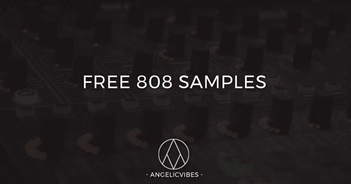 10 Free Roland 808 Samples From Angelic Vibes