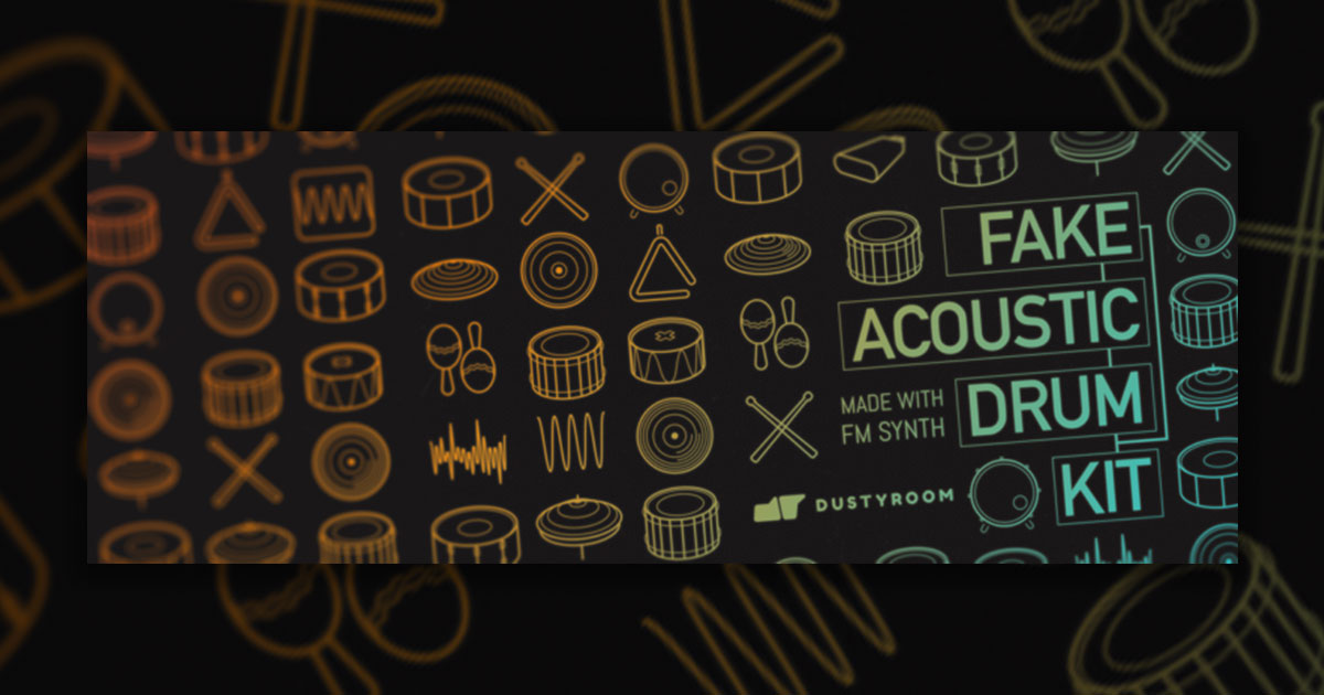 Free Fake Acoustic Drum-Kit Samples