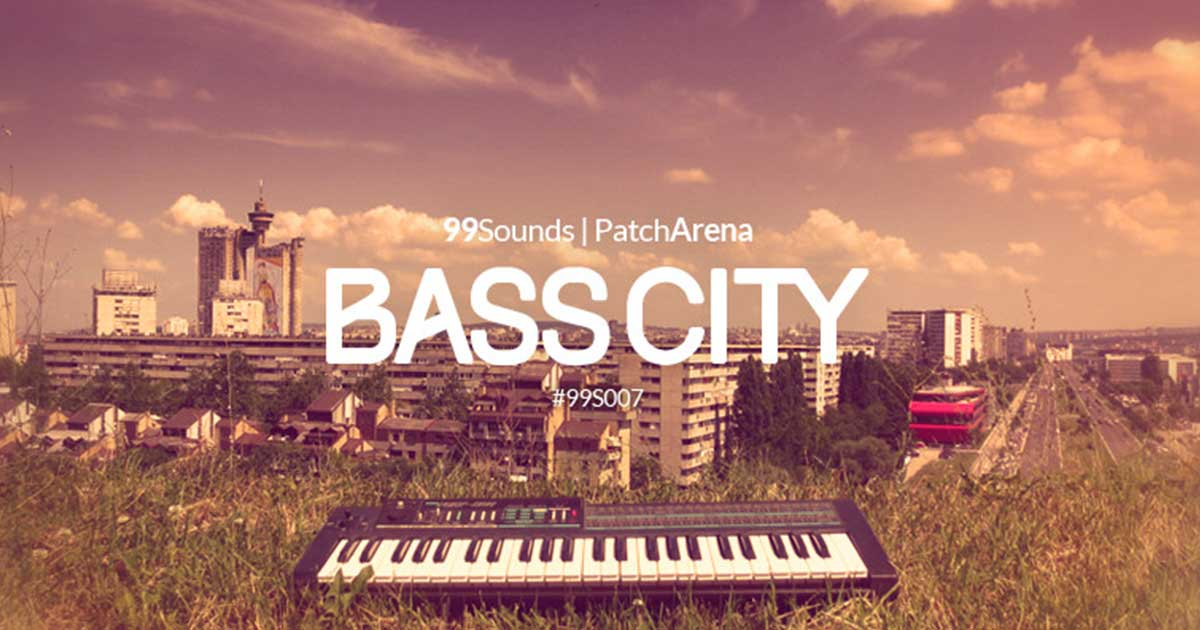 99Sounds - Free Bass City Sample Pack