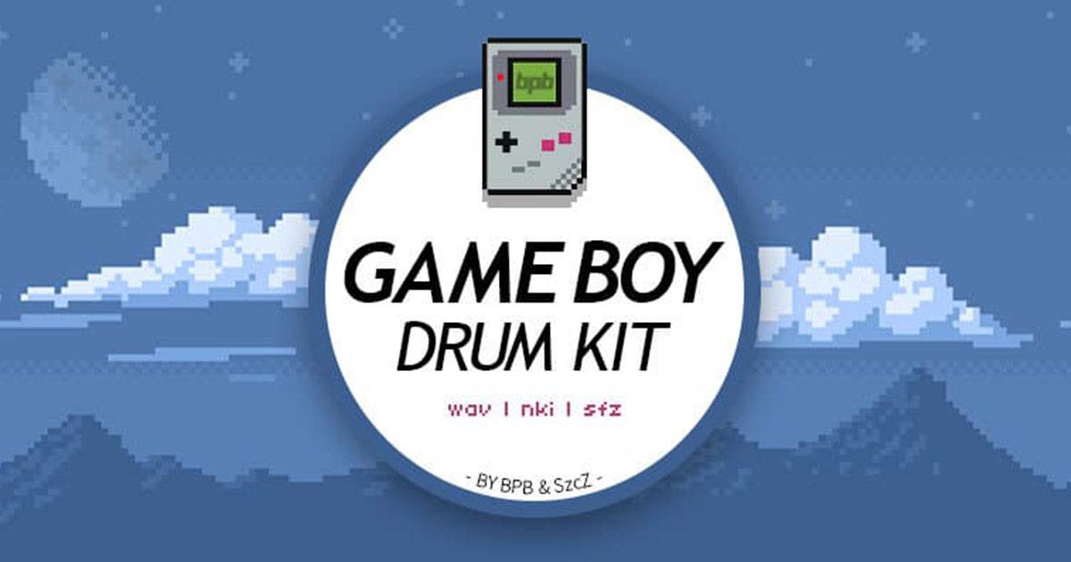 Free Nintendo Gameboy Drum Kit | Free Drum Samples