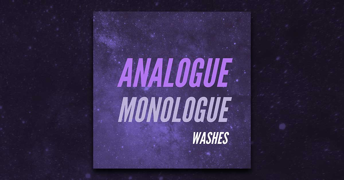 Washes Music - Analogue Monologue - Free Drum Samples
