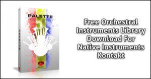 Download Palette Primary Colors For Kontakt Now