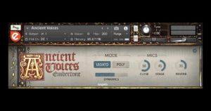 Embertone Ancient Voices - Free Kontakt Choir Instrument