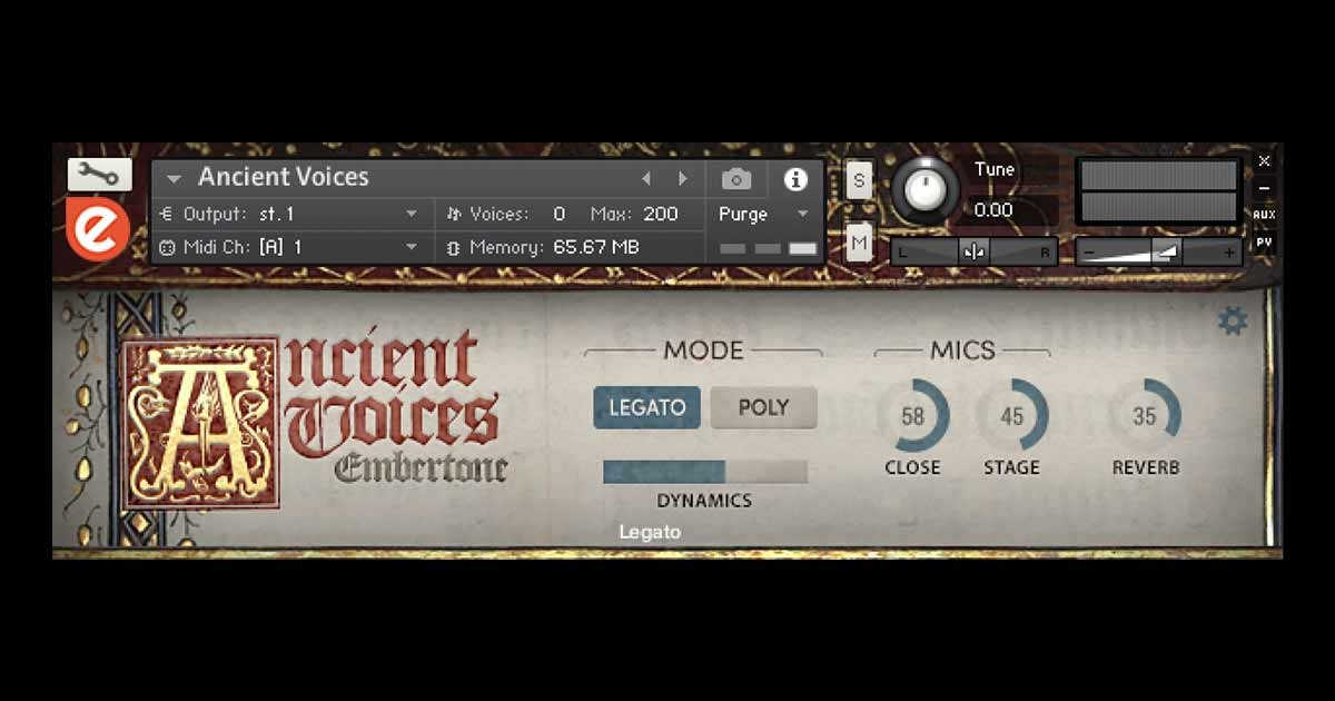 Embertone Ancient Voices For Kontakt | Free Sample Packs