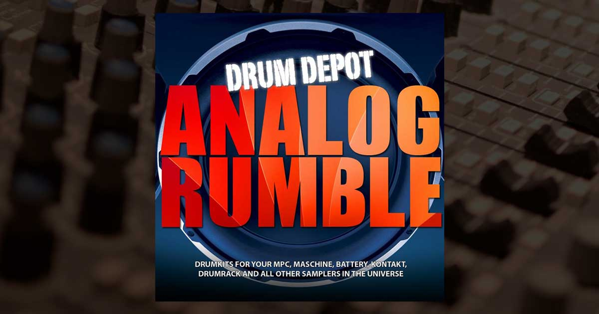 Drum Depot - Analog Rumble - Free Electronic Drum Kit Samples