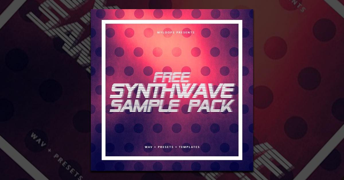 MyLoops - 300mb Free Synthwave Sample Pack | Free Sample Packs