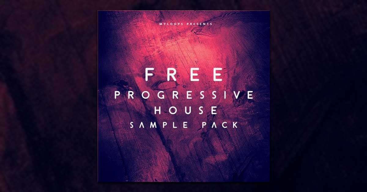 Myloops Free Progressive House Sample Pack