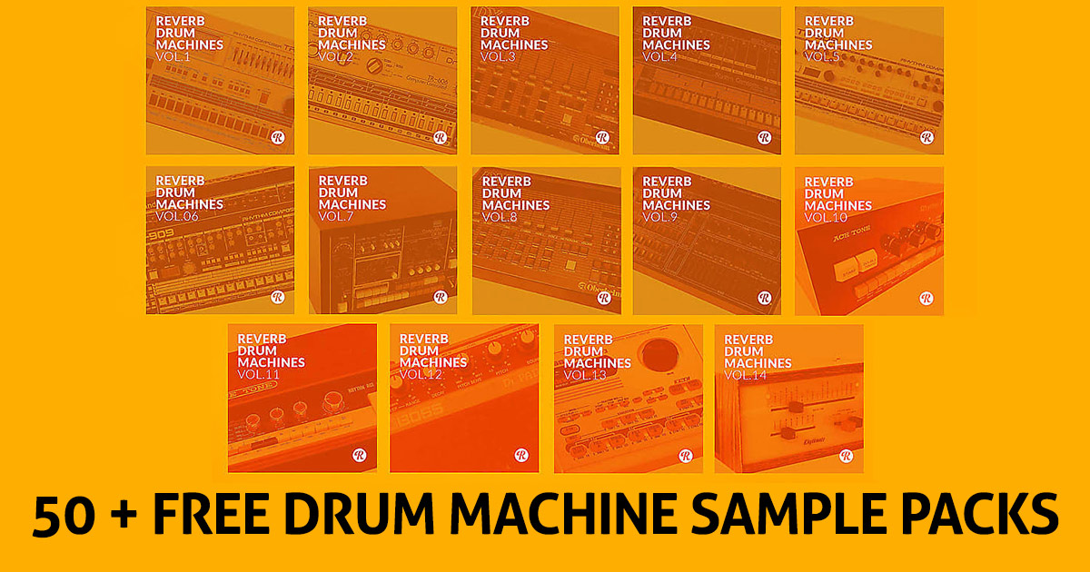 Download Over 50 Free Real Hardware Drum Machine Sample Packs From Reverb Now