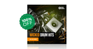 Black Octopus - Wicked Drum Hits - 400 Free Single Drum Samples To Download
