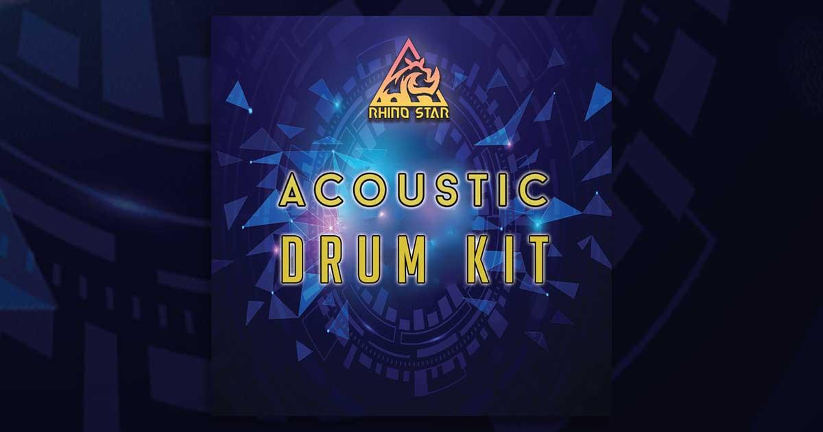 Rhinostar - Free Acoustic Drum Kit Sample Pack