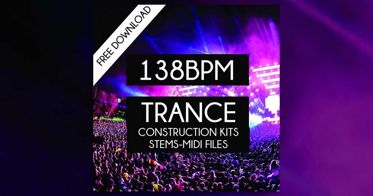 Free 138 BPM Trance Sample Pack Download
