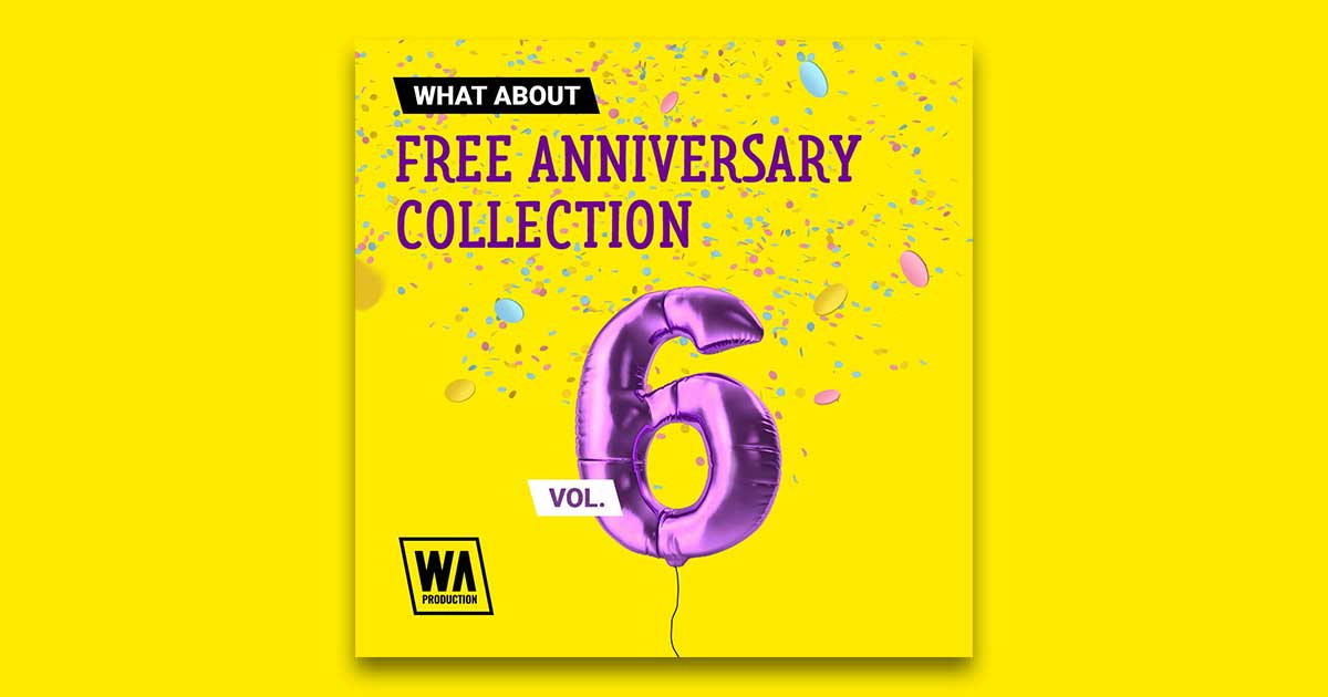 Free Anniversary Collection Volume 6 - 7GB Free Sample Pack