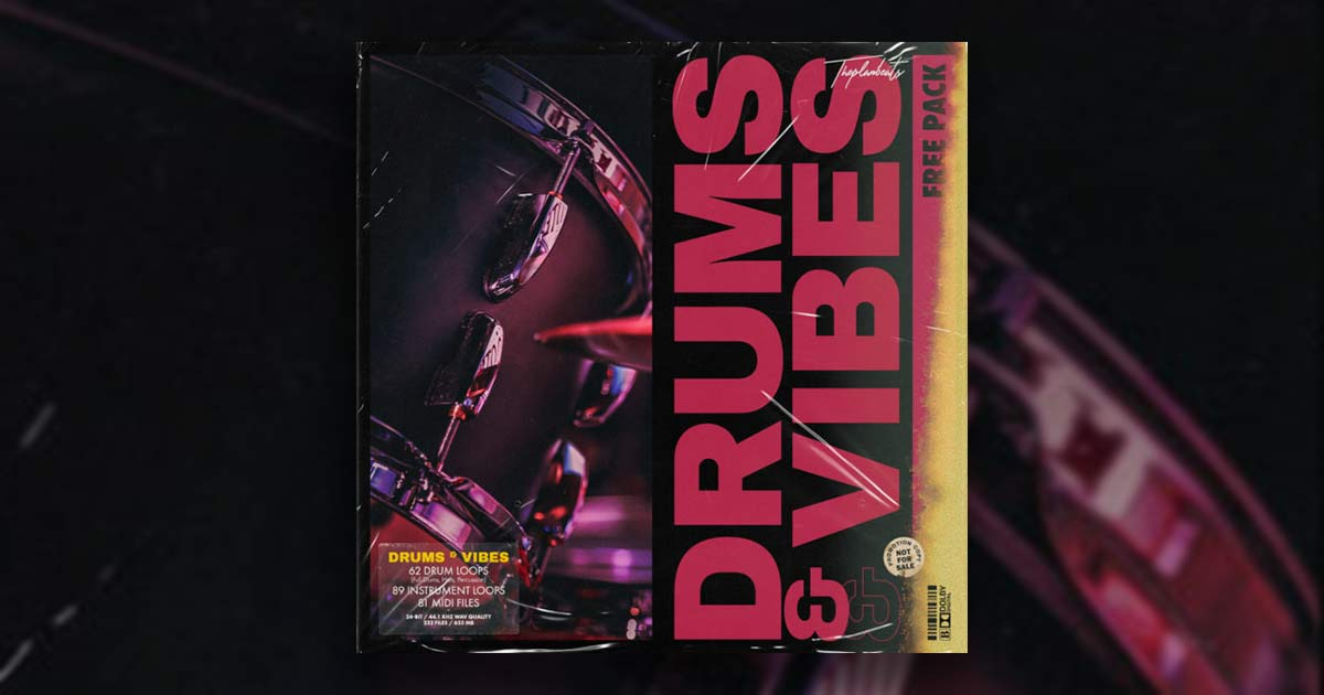 Download Drums And Vibes Free Sample Pack Today