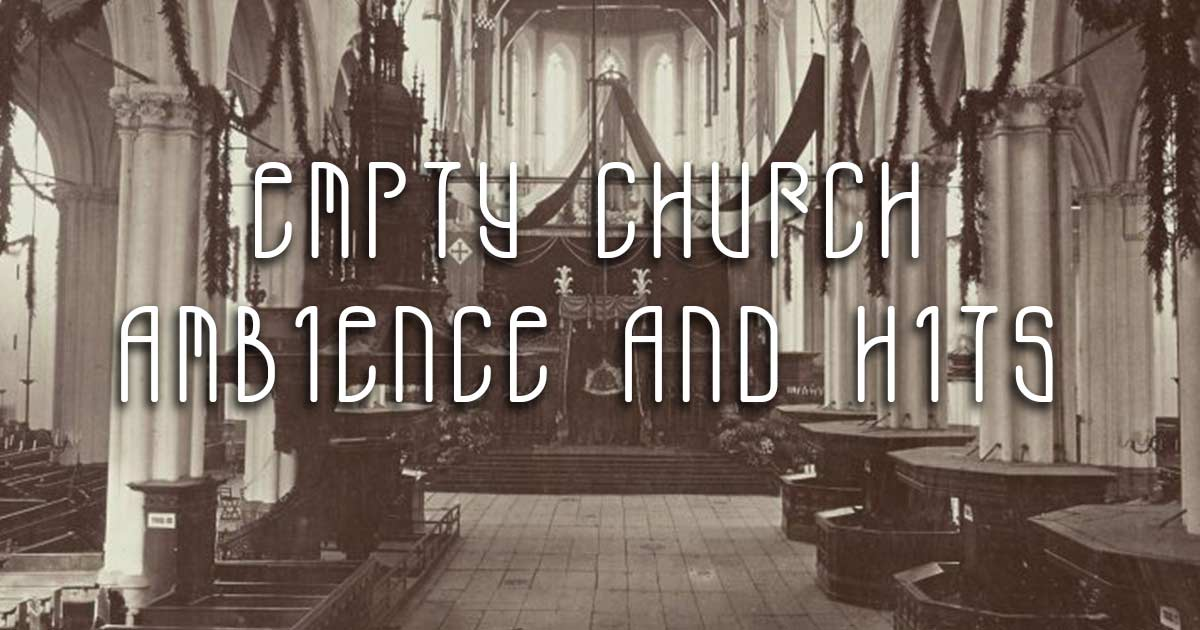 Download Free Empty Church Samples Now
