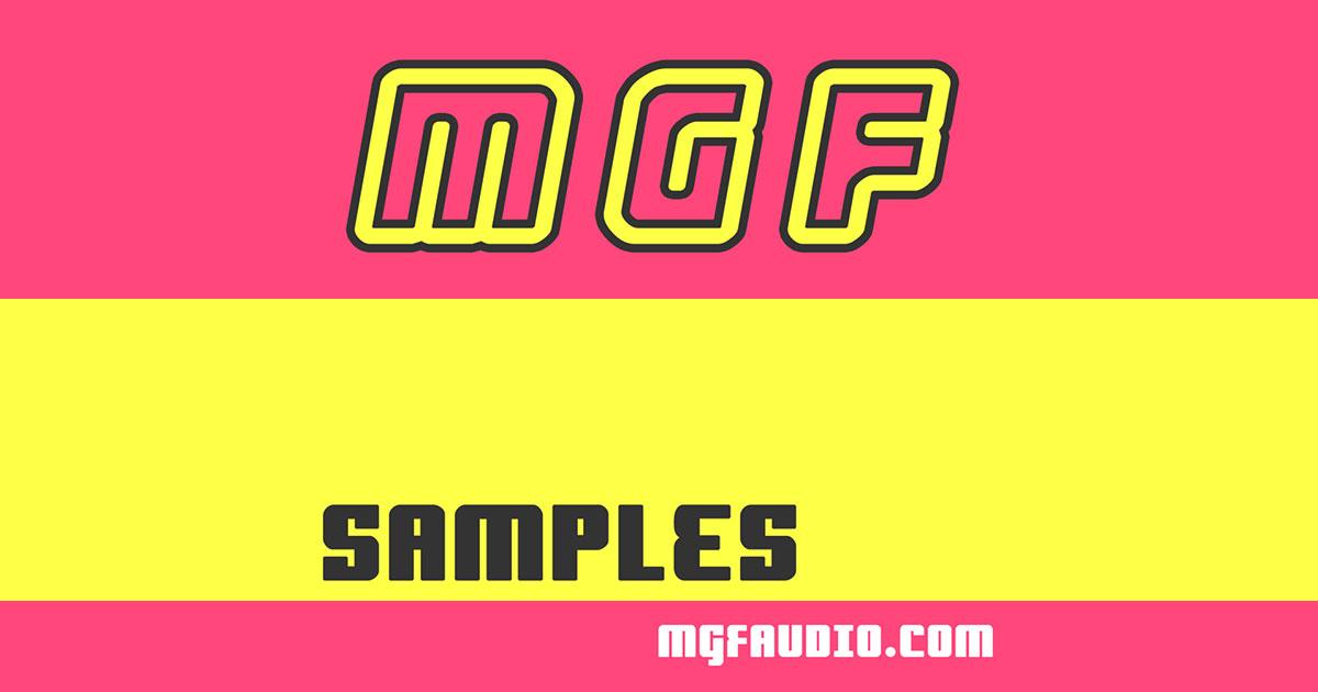 MGF Audio Mega Pack - 7gb Sample Pack Download