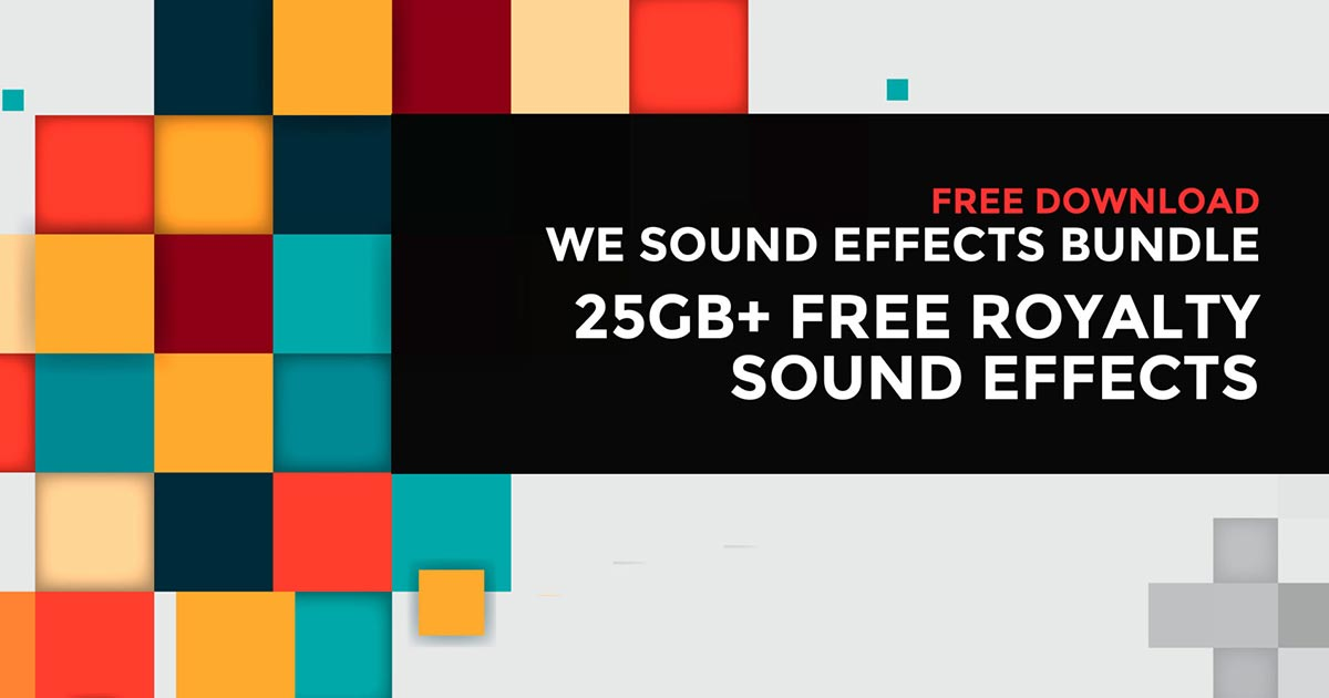 Download 25gb Free Sound Effect Sample Pack Today