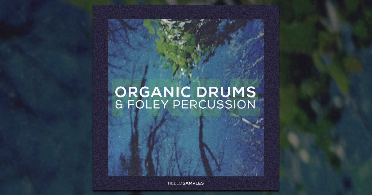 Free Organic Drums And Percussion Sample Pack