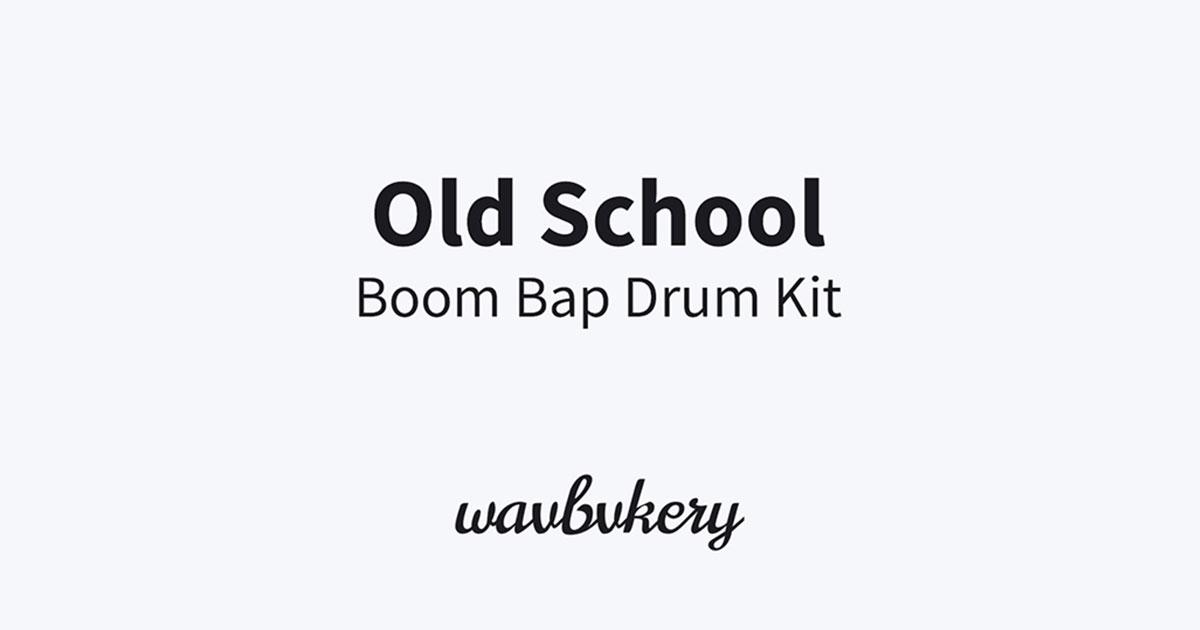 Free Old School Boom Bap Drum Kit