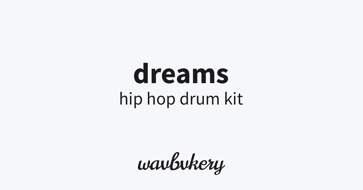 Download Dreams Nick Mira Inspired Hip Hop Drum Kit Free Now