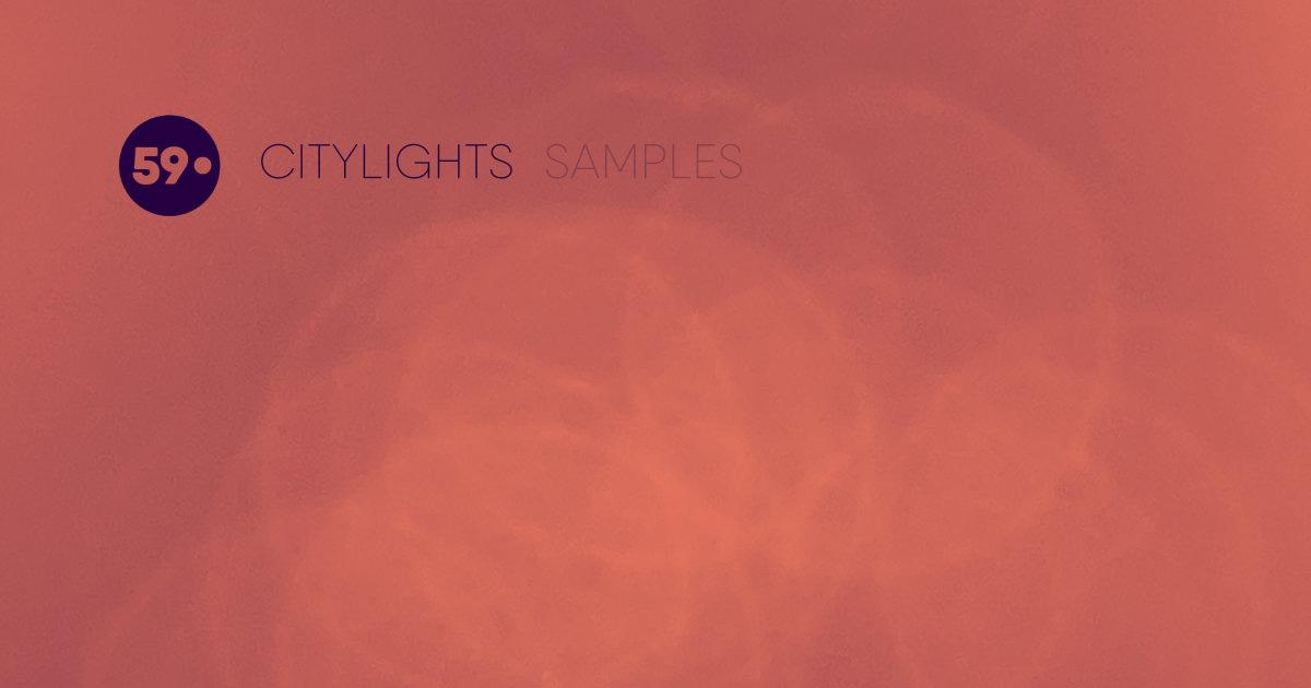 59 Perlen - Citylights Free Samples