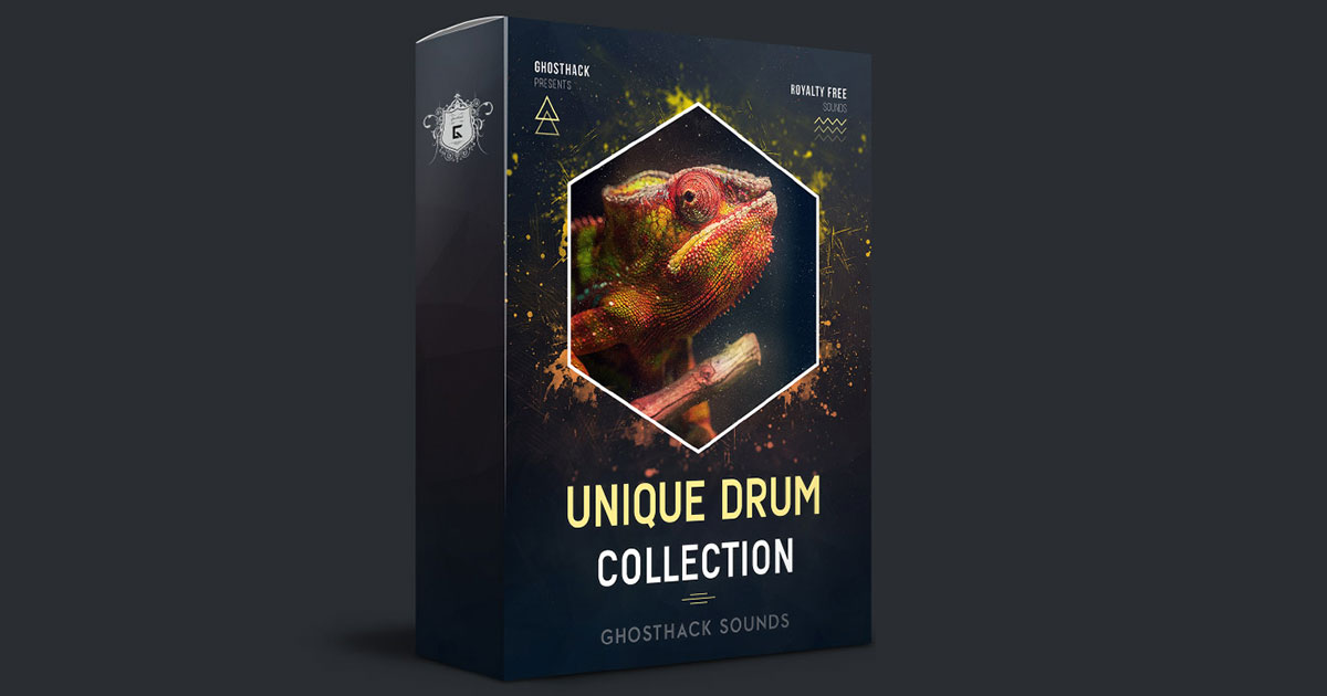 Get Ghosthack - Unique Drum Collection Sample Pack Free