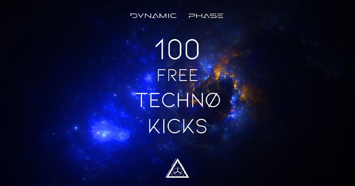 Dynamic Phase Sound - 100 Free Techno Kicks