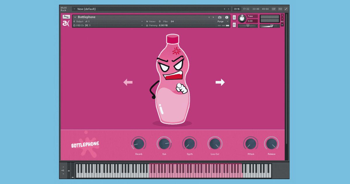 Bottlephone - Free Kontakt Instrument Download