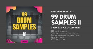 Download 99 Drum Samples II Free Now