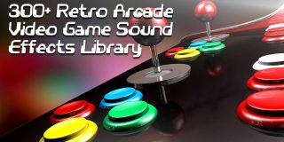 Over 300 Free 16-Bit Retro Arcade SFX Samples