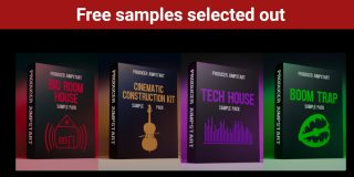 Download 130 Free Trap Bigroom and Tech House Samples Now